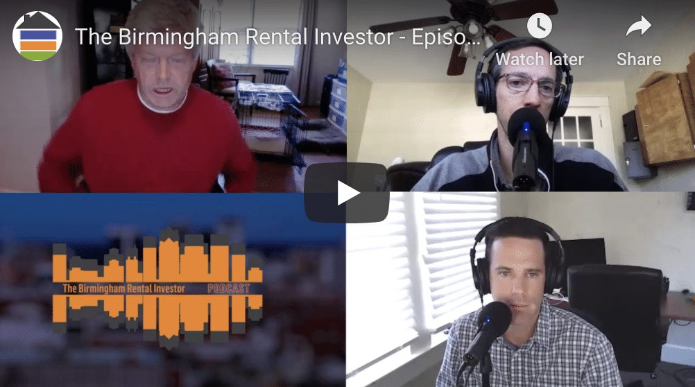 The Birmingham Real Estate Investor – Episode 02 with Bryan Miles