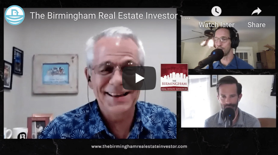 The Birmingham Real Estate Investor – Episode 13 with Bruce Glenn