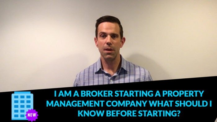 Have you ever thought about starting a property management company?