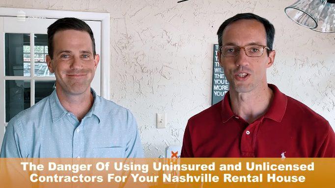 The Danger Of Using Uninsured And Unlicensed Contractors in Nashville