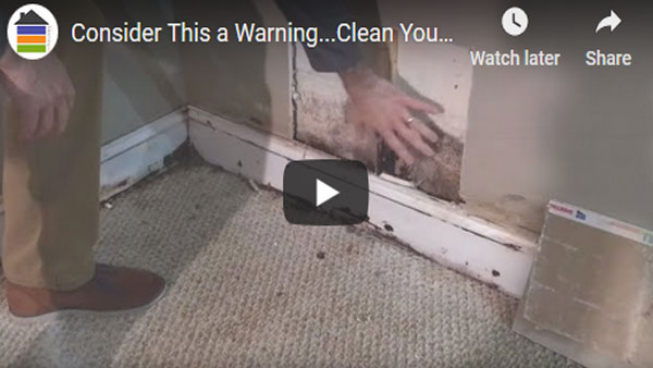 Consider This a Warning…Clean Your Gutters